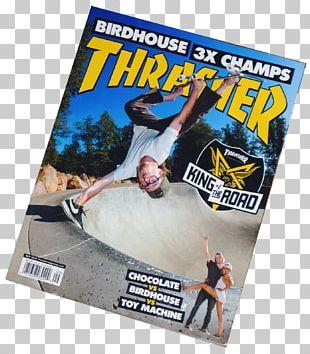 Noxon Thrasher Skateboarding Magazine Hobby PNG