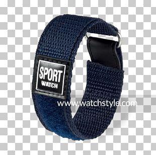 Strap Watch Hook-and-loop Fastener Bracelet Velcro PNG