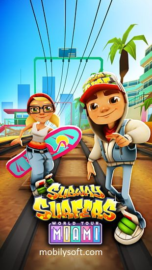 Cheats For Subway Surfers (Unlimited Keys & Coins) Temple Run 2 Miami Agent Dash PNG