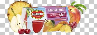 Fruit Cup Juice Apple Del Monte Foods Flavor PNG
