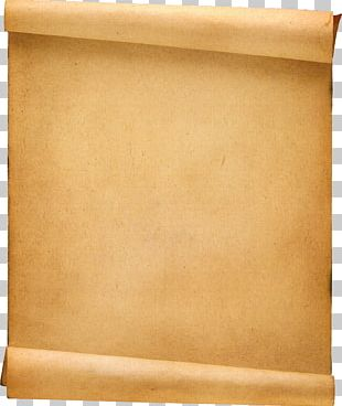 Paper Scroll Template Parchment PNG