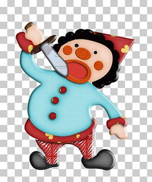 Circus Juggling Clown PNG