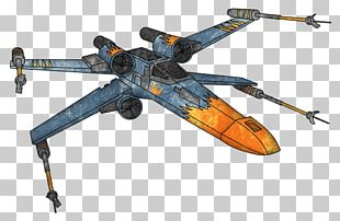 Wraith Squadron X-wing Starfighter Luke Skywalker Star Wars Battlefront II PNG