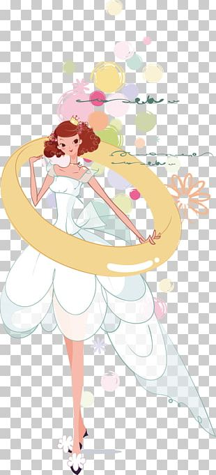 Bride Marriage Wedding Illustration PNG
