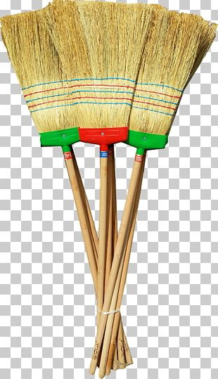 Broom Dustpan Cleaning Mop Brush PNG