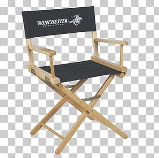 Table Director's Chair Folding Chair Furniture PNG