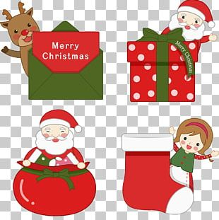 Santa Claus Christmas Ornament Gift PNG