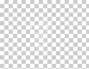 White Line Point Angle Black PNG