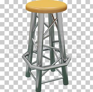 Bar Stool Table Furniture Truss PNG