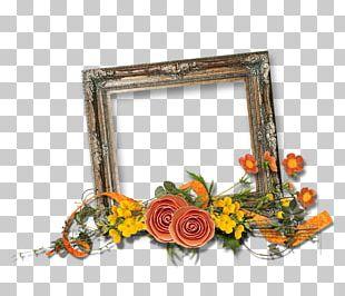 Floral Design Frames Cut Flowers PNG