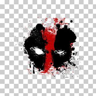 Deadpool Painting Fan Art PNG
