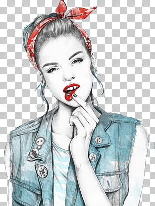 Illustrator Drawing Watercolor Painting Fashion Illustration Illustration PNG