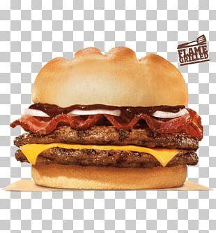 Cheeseburger Whopper Hamburger Big King Bacon PNG