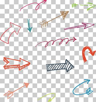 Hand Drawn Arrow PNG