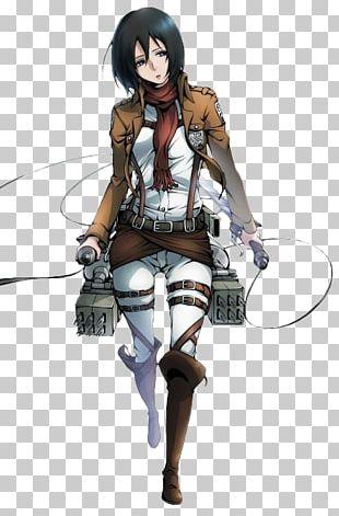 Mikasa Ackerman Attack On Titan Anime Eren Yeager Model Sheet PNG