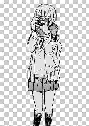 Drawing Anime Manga Girl PNG