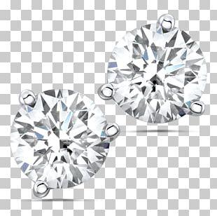 Earring Brilliant Diamond Carat Necklace PNG