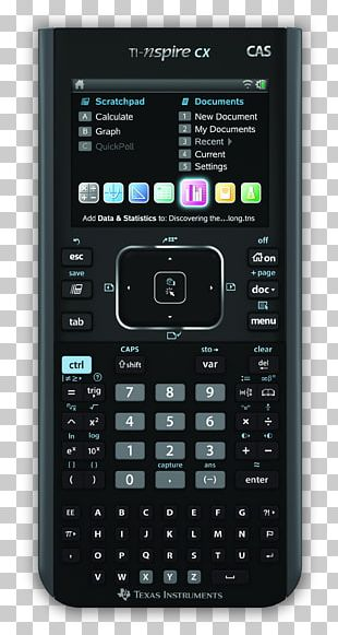 TI-Nspire Series Graphing Calculator Computer Algebra System Texas Instruments TI-Nspire CX CAS PNG