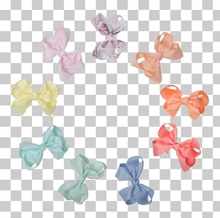 Bead Plastic Body Jewellery Ribbon Pink M PNG