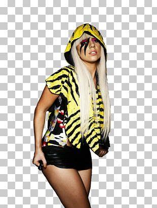 Lady Gaga X Terry Richardson Digital Art T-shirt PNG