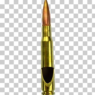 Bullet .50 BMG Caliber Ammunition Cartridge PNG