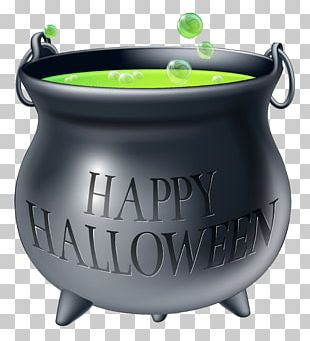 Cauldron Halloween Confectionery Trick-or-treating Party PNG