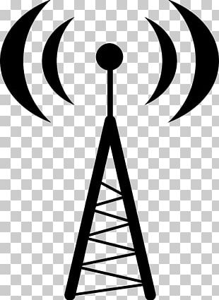 Aerials Telecommunications Tower Radio Mobile Phones PNG