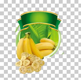 Banana Chip Food PNG