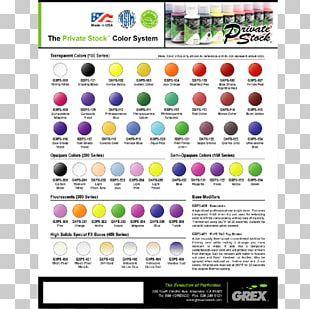 Air Brushes Aerosol Paint Color Acrylic Paint PNG