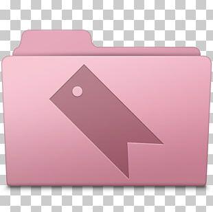Pink Angle Font PNG