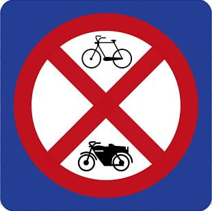 Traffic Sign Car Park Motorcycle Bicycle Parking PNG