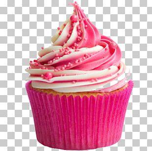 Cupcake Frosting & Icing Birthday Cake Cream PNG
