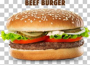 Hamburger Cheeseburger McDonald's Big Mac Whopper McChicken PNG
