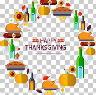 Turkey Thanksgiving Dinner Holiday PNG