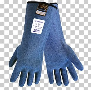 Cut-resistant Gloves Cycling Glove Cobalt Blue Nitrile PNG