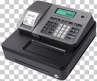 Cash Register Point Of Sale Casio Price Retail PNG