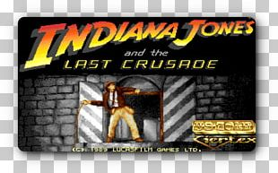 Indiana Jones And The Last Crusade: The Action Game Gazza II Video Game PNG