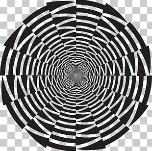 Optical Illusion Optics Vortex PNG