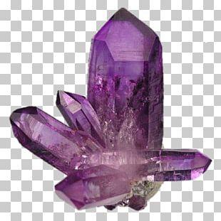Amethyst Crystal Healing Quartz Mineral PNG