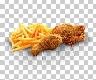 French Fries Chicken Nugget Crispy Fried Chicken KFC Fast Food PNG