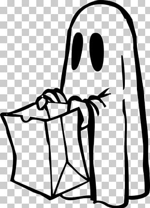 Halloween Costume Black And White PNG