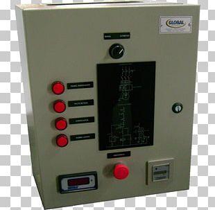Circuit Breaker Electronics Control Panel Computer Hardware Engineering PNG