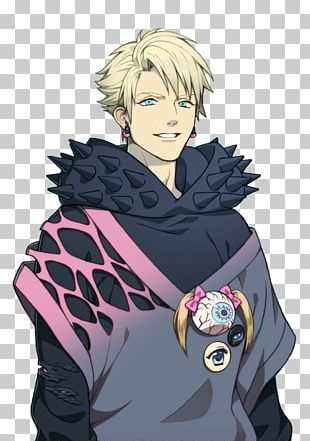 Dramatical Murder Flower Crown Wreath T-shirt PNG