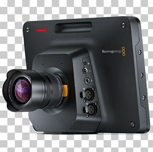 Blackmagic URSA Blackmagic Design Blackmagic Studio Camera 4K 4K Resolution PNG