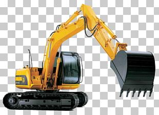 Excavator Plant Heavy Machinery JCB PNG