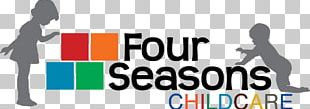 Four Seasons Childcare Child Care Logo PNG