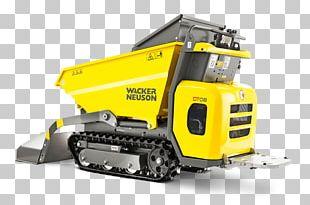 Dumper Dump Truck Loader Continuous Track Wacker Neuson PNG