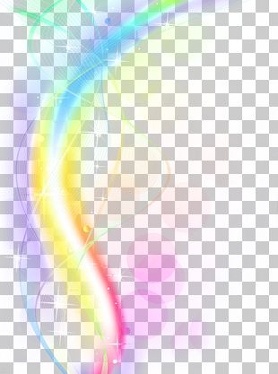 Light Rainbow Euclidean PNG