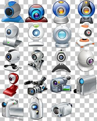 Webcam Video Camera Icon PNG