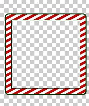 Borders And Frames Santa Claus Frames Window PNG
